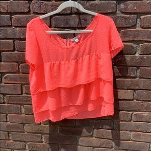 American Eagle Ruffled Blouse